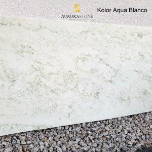 Fornir Kamienny Aqua Blanco